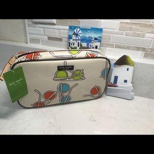 kate spade Vintage Travel/Cosmetic Bag